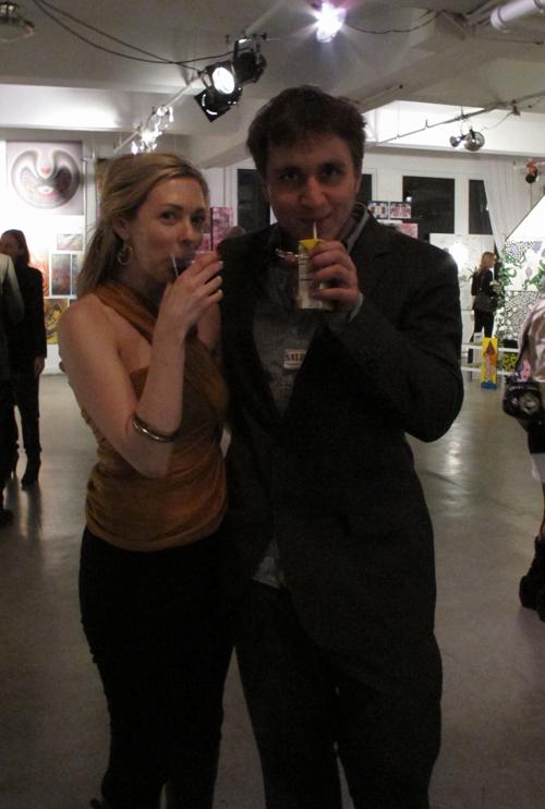 Jack Davletshin and Erin Dinan