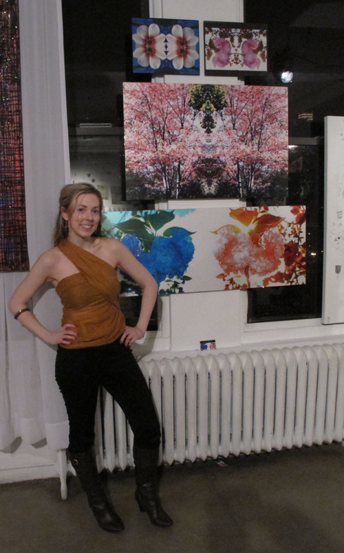 Erin Dinan at The Contrast Art Show