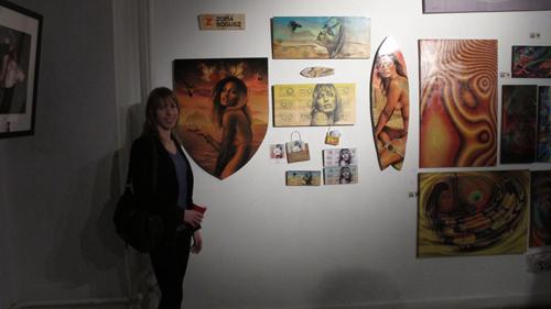 Zofia Bogusz at The Contrast Art Show