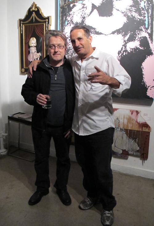 John Stravos at 320 studios