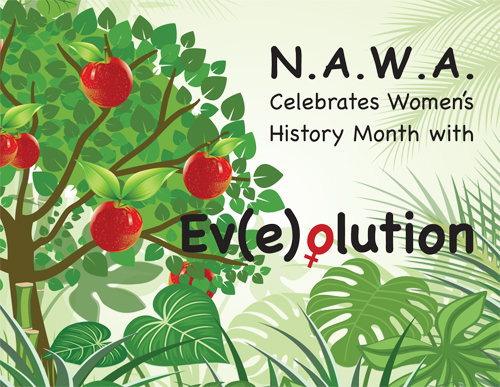 exhibit celebrating Women's History Month, at the Riverside Library, NYC