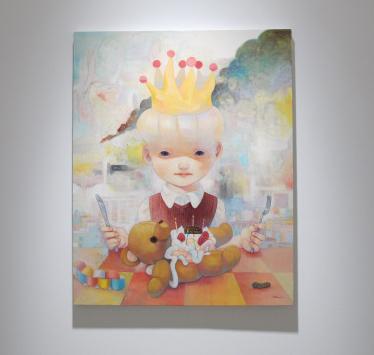 Opening for Japanese artist Hikari Shimoda at Foley Gallery