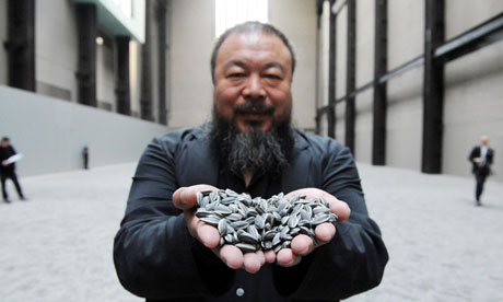 Ai Weiwei: sunflower seeds at the Tate