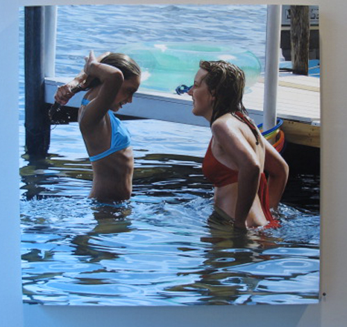 Mary Henderson's The Bathers at Lyons Wier Gallery