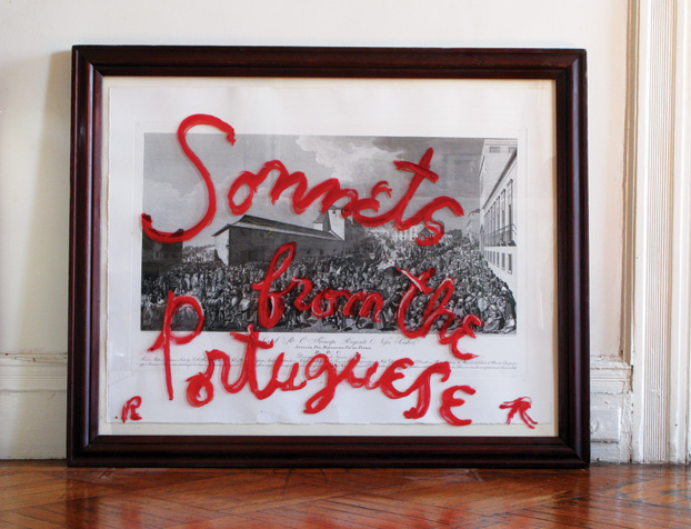 Rene Ricard Sonnets from the Portuguese Presented by Vito Schnabel