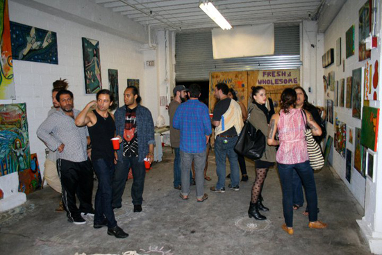 The Three day art bash in Art Rev Studios in Chelsea