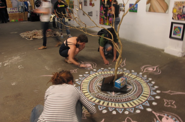 Three day Mega Art bash at the Revolutionary Art Studios in Chelsea