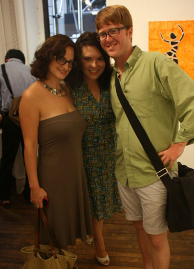 """""""Fresh Paint from Bushwick"""" at Standpipe Gallery photos by Kashief Farwudlane"""