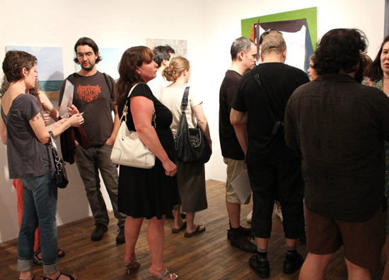 """Fresh Paint from Bushwick"" at Standpipe Gallery photos by Kashief Farwudlane"