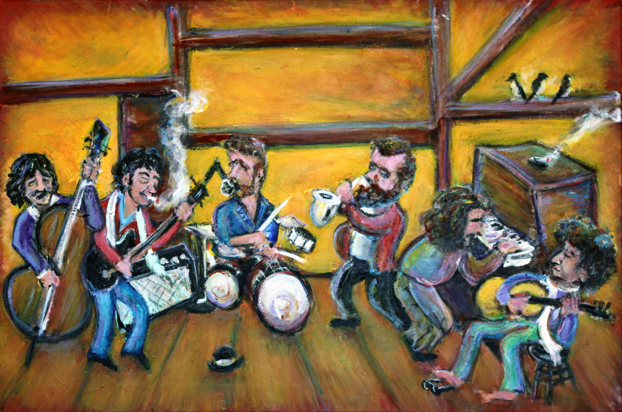 """Musically Speaking"" Featuring the Art of NJ's Jason Gluskin at Bergen Performing Arts"