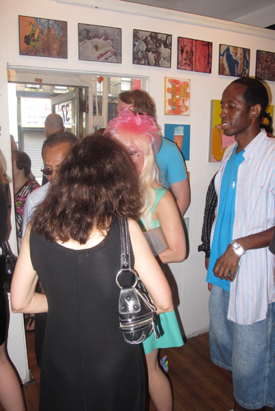 Orchard Windows Gallery Massive group show Opening night 8/1/11