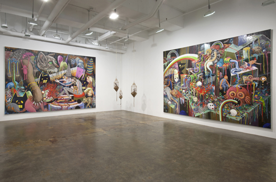 Stephanie Gutheil's interview at Mike Weiss' Gallery by Vincent Zambrano