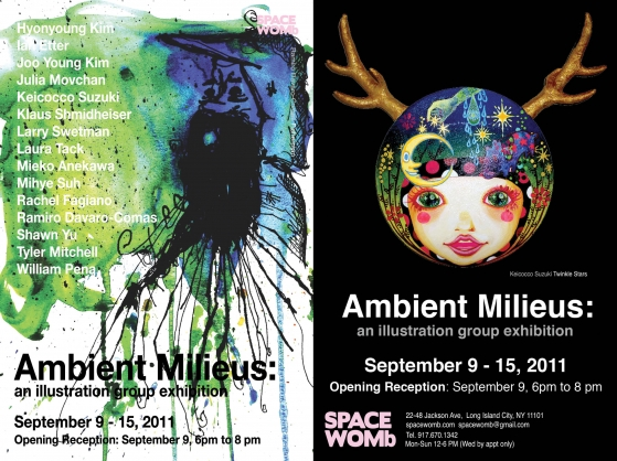 Ambient Milieus: An illustration group exhibition