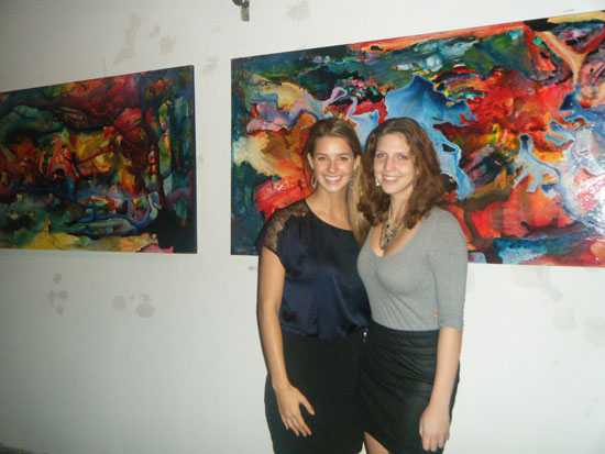 Opening for Jess Hartley's solo show at Greenpoint Gallery