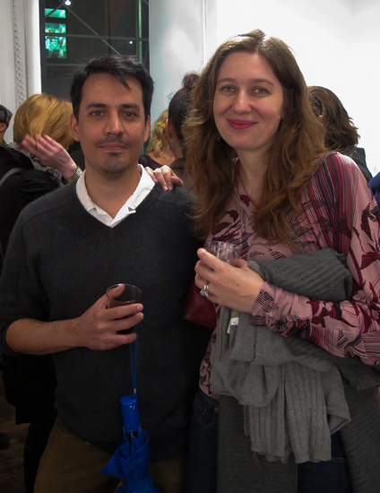 Curators Christopher Schade and Zoe Pettijohn Schade