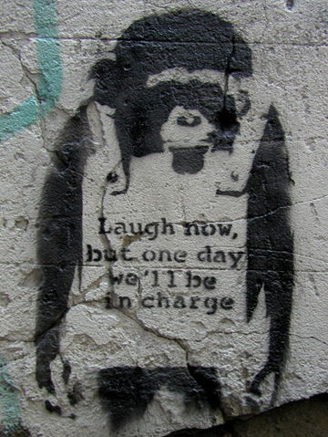 banksy-monkey
