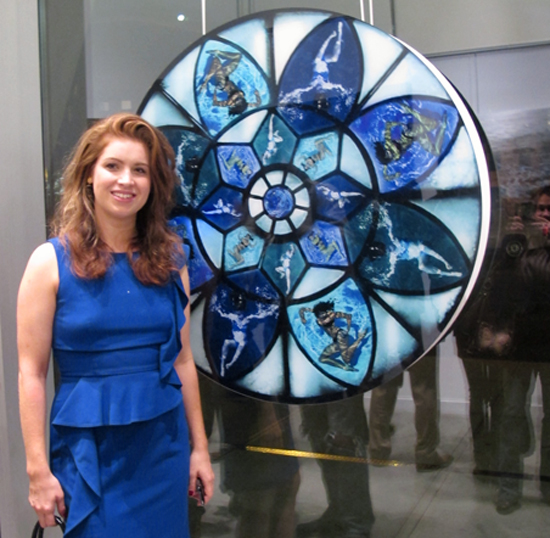 "Jessica Speckhard at ""Serenity Now"" opening"