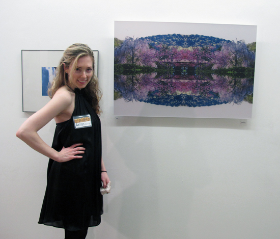 "Erin Dinan at The group exhibition ""4 + Elements"" at the Prince George Gallery"