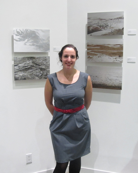 "Lisa Lebofsky at ""Serenity Now"" Opening"