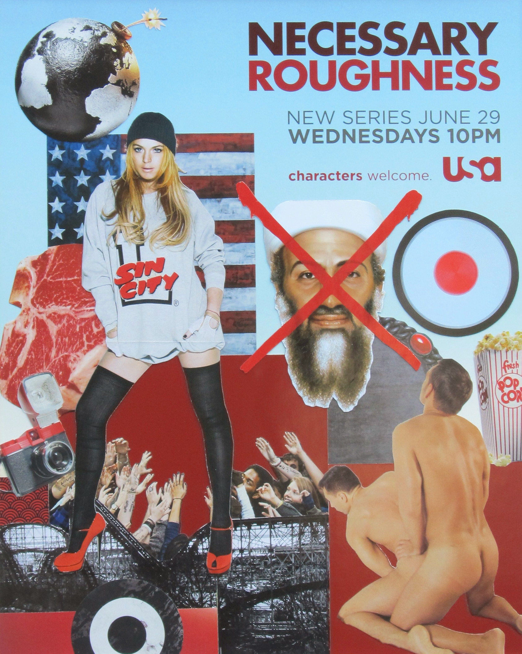 NECESSARY ROUGHNESS 24x36