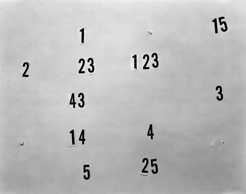 Numbers by Lucas Blalock, 2011