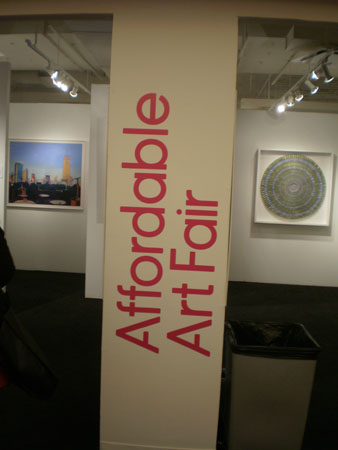 Welcome to Affordable Art Fair 2012