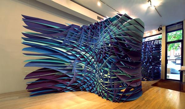Summer Art Spotlight: Amazing Installation at Bridge Gallery