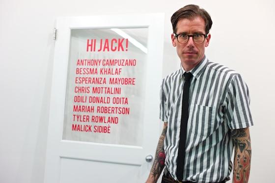 Luke Turner, Curator of HiJack!