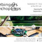"""Harbingers and Psychopomps"" opening at The IMC Lab + Gallery"