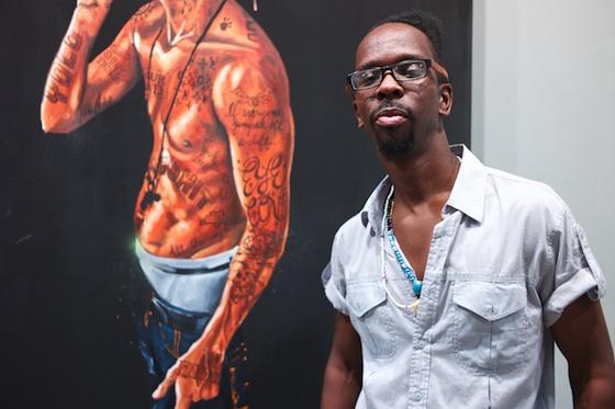 Fahamu Pecou, artist