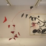 """Alexander CALDER """"Two Fish Tails"""" 1975 painted sheet metal, rod, and wire 76 x 94 inches  $8,000,000 at Helly Nahmad"""