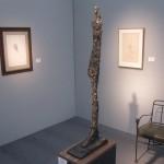 "Albert GIACOMETTI ""Femme de Venise VII"" 1956 (cast 1957) bronze 46 x 7 x 14 inches edition of six  $12,500,000 at Thomas Gibson Fine Art"