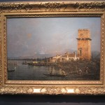 """ntonio CANAL (called CANALETTO) """"The Torre di Marghera"""" undated oil on canvas 12 x 18 inches  €2,200,000 at Robilant + Voena"""