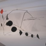 """Alexander CALDER """"Triumphant Red"""" 1959 painted sheet metal, rod, and wire 110 x 230 x 180 inches  $20,000,000 at Helly Nahmad"""