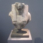 """Unknown """"Female bust"""" 18th Dynasty (1525 - 1353 B.C.) granite 24 x 20 x 12 inches  £200,000 at Rupert Wace Ancient Art"""
