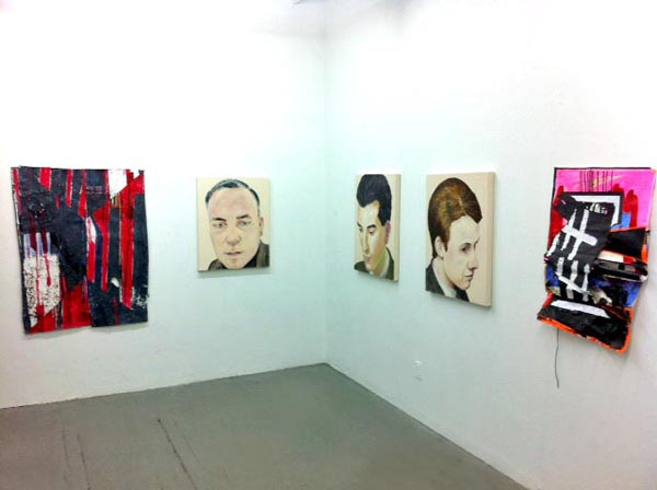Installation View for the No Age Show at Launch F18