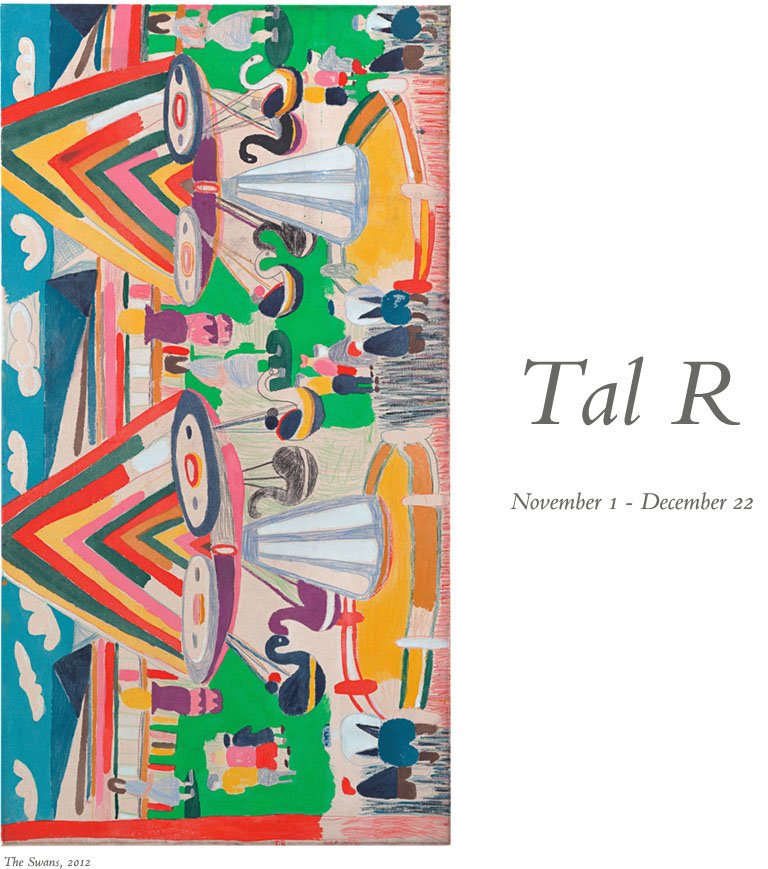 Tal R Has First Exhibition With Cheim & Read