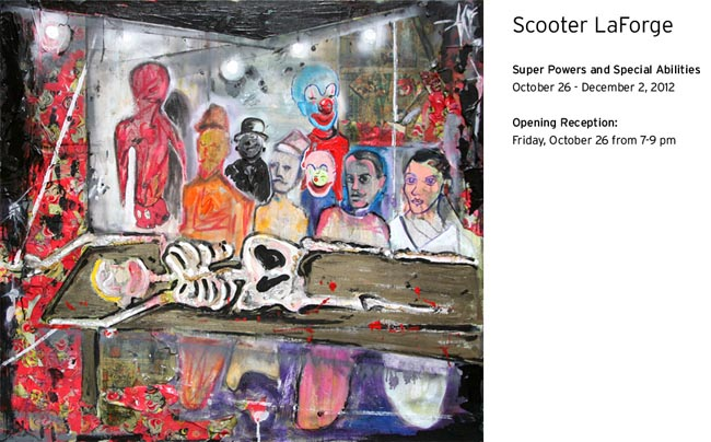Super Powers and Special Abilities', a solo exhibition by Scooter LaForge at Munch Gallery