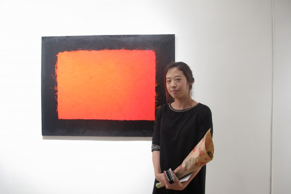 Min Ah Hong one of the artist at Exposure