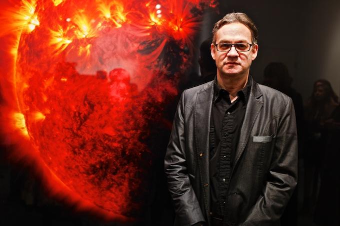 Artist Michael Benson at HASTED KRAEUTLER