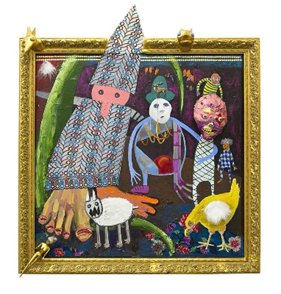 Stefanie Gutheil | Die Beobachter | Mike Weiss Gallery | Arte Fuse ...