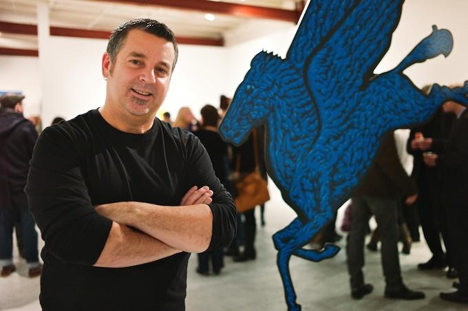 Artist Mark Dean Veca