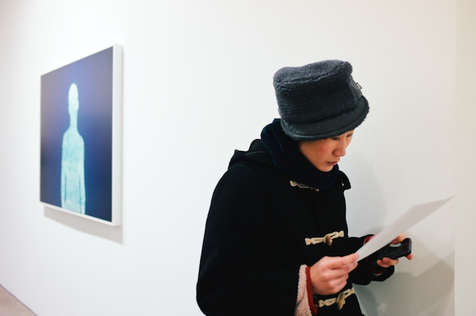 Reading up on Christopher Bucklow at Danzinger Gallery
