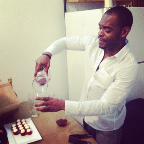 Vander: the cupcake-making, wine-serving, event coordination guru