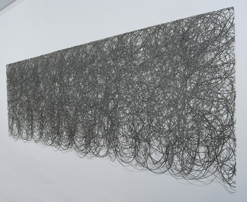 Untitled (41 Layers) 2011  36 x 120 inches (91 x 305 cm) Graphite on paper, hand-cut