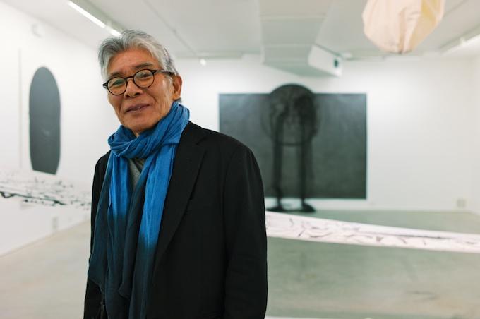 Artist Takesada Matsutani