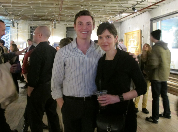 Cole Harrell Executive Art Consultant for nAscent Art NY (L)
