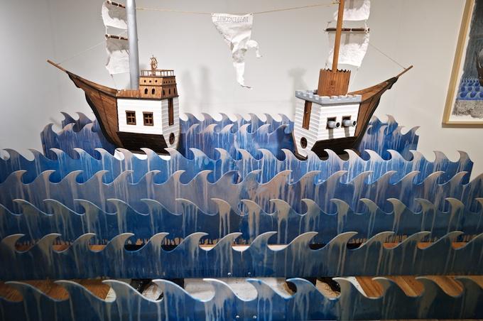 Gallery Poulsen (Copenhagen) installation by Jade Townsend from Brooklyn