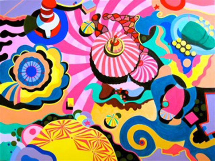 Carnival, 36 x 48