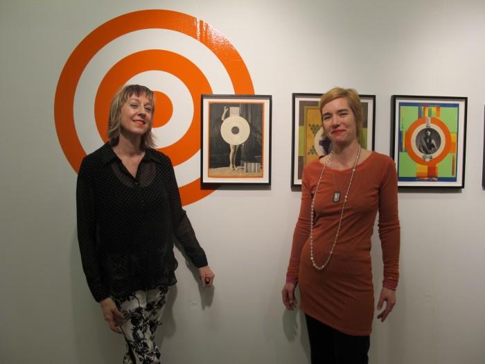 (L-R) Eva Lake (artist) & Eva Frosch of frosch & portmann Gallery